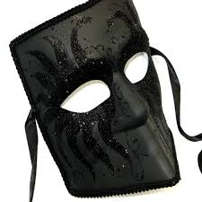 black masquerade masks for men black play mask men s venetian masquerade