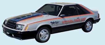mustang of indianapolis graphix 1979 ford mustang indy pace car decal kit