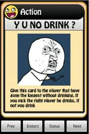 Meme Drinking Game - image 122984 4chan drinking game cards know your meme