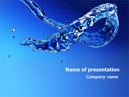 Water Powerpoint Templates by Blue Water Powerpoint Template Backgrounds 07546
