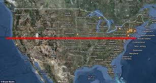 map of us cities 40th parallel photographer maps geographic line that bisects