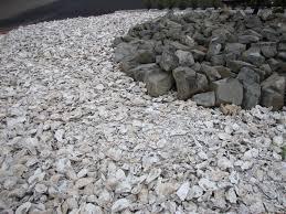 White Rocks For Garden by Danger Garden July 2010