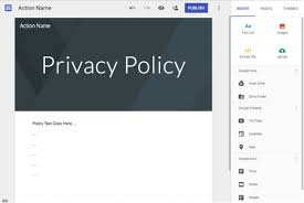 Privacy Policy Privacy Policy Guidance Actions On Google Google Developers