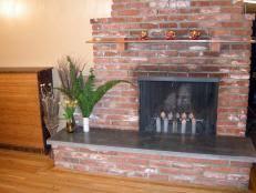 Mantel Bookshelf How To Build Bookshelves Around A Fireplace Hgtv