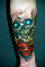 awesome skull tattoo designs cool tattoos bonbaden