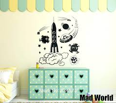 articles with childrens bedroom wall stickers australia tag childrens wall art stickers australia mad world space alien rocket childrens wall art stickers wall decal