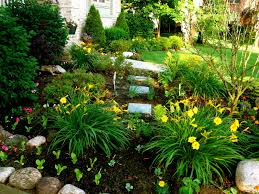 pictures front yard flower bed ideas best image libraries