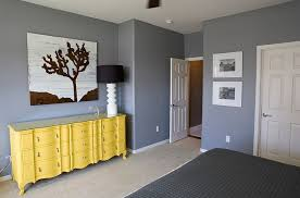 Gray Bedroom Dressers Cheerful Sophistication 25 Gray And Yellow Bedrooms