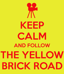 image keep calm and follow the yellow brick road 16 png oz