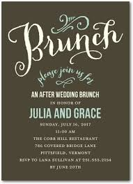 brunch invites wording wedding brunch invitation wording paperinvite