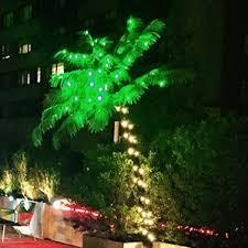 lighted mr christmas palm tree wayfair