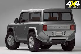 Fords New Bronco 2004 Ford Bronco Concept Car Emerges In The Rock U0027s New Film 4x4