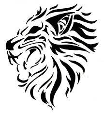 aggressive lion roaring tattoo design tattooshunter com