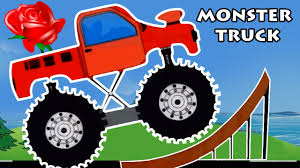 monster truck videos on youtube monster trucks for children flowers preschool learning song