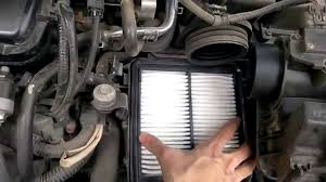 how to replace the air filter of honda city 2009 2013 youtube