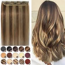 invisible hair invisible clip in one thick remy human hair extensions 3