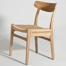Hans Wegner Sofa by Hans Wegner Ch23 Side Chair