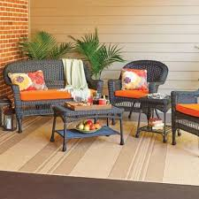 Faux Wicker Patio Sets Outdoor Furniture Collections Improvements