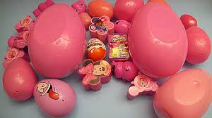 Pink Colour by Learn Colours With Surprise Eggs Pink Youtube