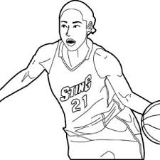 nba players coloring pages nba player blocked shot coloring page color luna