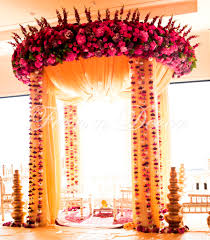 fern u0027n u0027 decor indian wedding decorator nj mandap stage decor