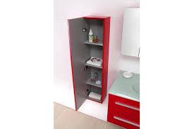 Meuble De Rangement Salle Bain Armoire 1 Miroir Meuble Salle De Bain Vasque Noe Laqué Vasque En Verre 90 Cm