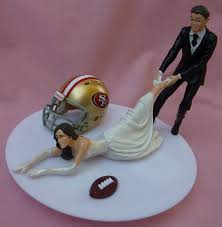 christmas gifts for 49ers fans wedding cake topper san francisco 49ers sf g football themed w