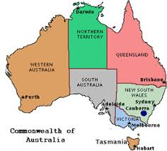 territories of australia map map of australia with territories major tourist