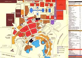 Map Of The Strip Las Vegas Strip Map Printable The Actual Dimensions Of The Las