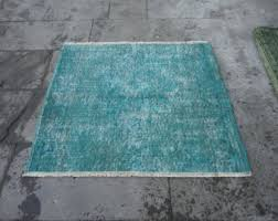 Over Dyed Distressed Rugs Recolored Rug Etsy