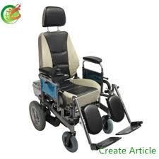 sedia elettrica per disabili pieghevole sedia a rotelle elettrica per i vecchi e disabili in