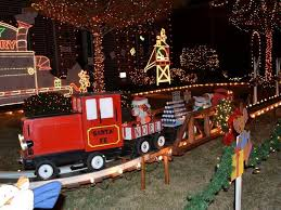 Christmas Train Decoration Outdoors by 62 Best Christmas Trains Images On Pinterest Christmas Train