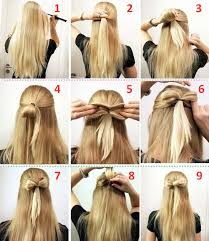 hair tutorials for medium hair summer hairstyles for simple hairstyles for medium hair step by