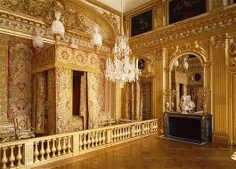 vue intérieure des appartements du roi chambre de louis xiv