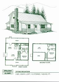 x32 cabin w loft plans package blueprints material list best two bedroom cabin floor plans images best modern house plans