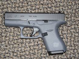 glock 380 acp model 42 pistol in