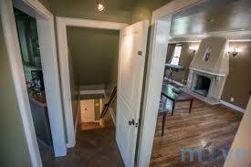 top basement apartment entrance with apartment entrance door
