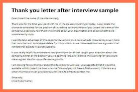 thank you letter examples interview gallery of thank you letter after interview sample bio example