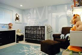 Nursery Boy Decor Black Wood Baby Boy Nursery Ideas With Creative Design Blue