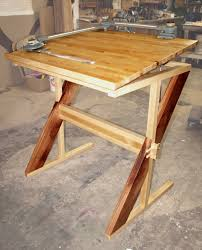 Wooden Drawing Desk Plans To Build Drafting Table Plans Pdf Download Drafting Table