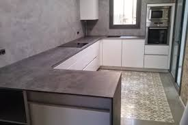 neolith iron gray countertop marbres i granits pere poveda
