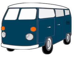 volkswagen old van clipart good old van