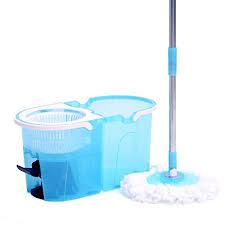 mocio pavimenti uragano 360 kit lavapavimenti con secchio strizzatore rotante e