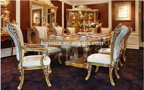 Italian Style Dining Room Furniture by Bisini Italian Style Elegant Baroque Marquetry Dining Room