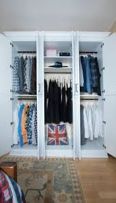 custom armoire closets mimic free standing closet for a victorian home
