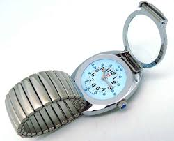 Wrist Watch For The Blind Steel Gun Picture More Detailed Picture About Fashion Quartz