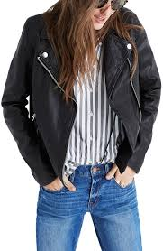 padded leather motorcycle jacket madewell washed leather moto jacket nordstrom