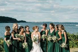 wedding color palette ideas dark green u0026 emerald inside weddings