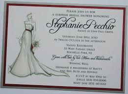 bridal sketch bridal shower invitation