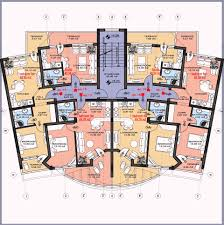 chic ideas basement apartment floor plans multi family plan w3117